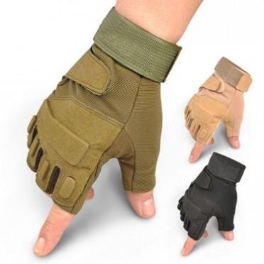 运动健身军手套男半指野战特种兵学生战术夏季打架耐磨格斗防割滑