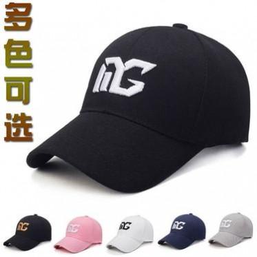 夏季遮阳男帽子女潮牌鸭舌帽棒球帽学生韩国范儿甜美可爱青年百搭
